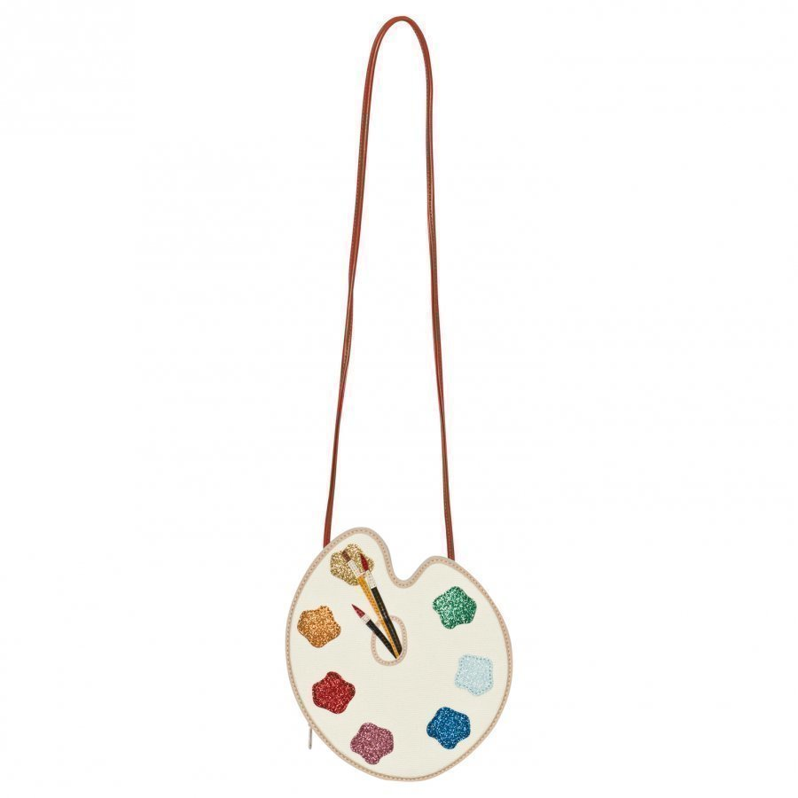 Stella Mccartney Kids Cream Paint Palette Bag Käsilaukku
