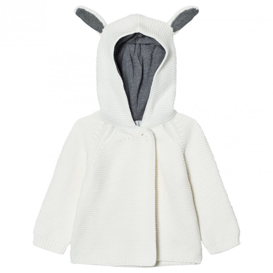 Stella Mccartney Kids Cream Smudge Knit Cardigan Neuletakki
