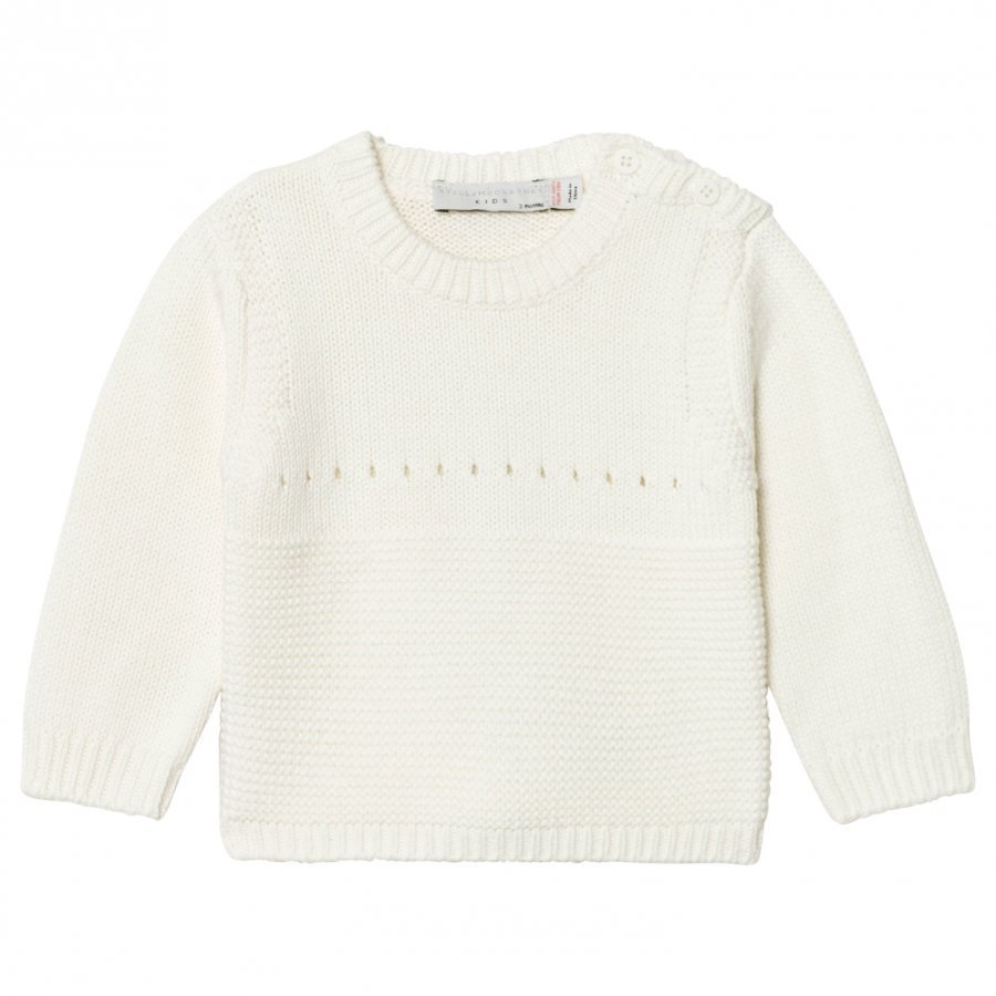 Stella Mccartney Kids Cream Thumper Knit Bunny Jumper Paita