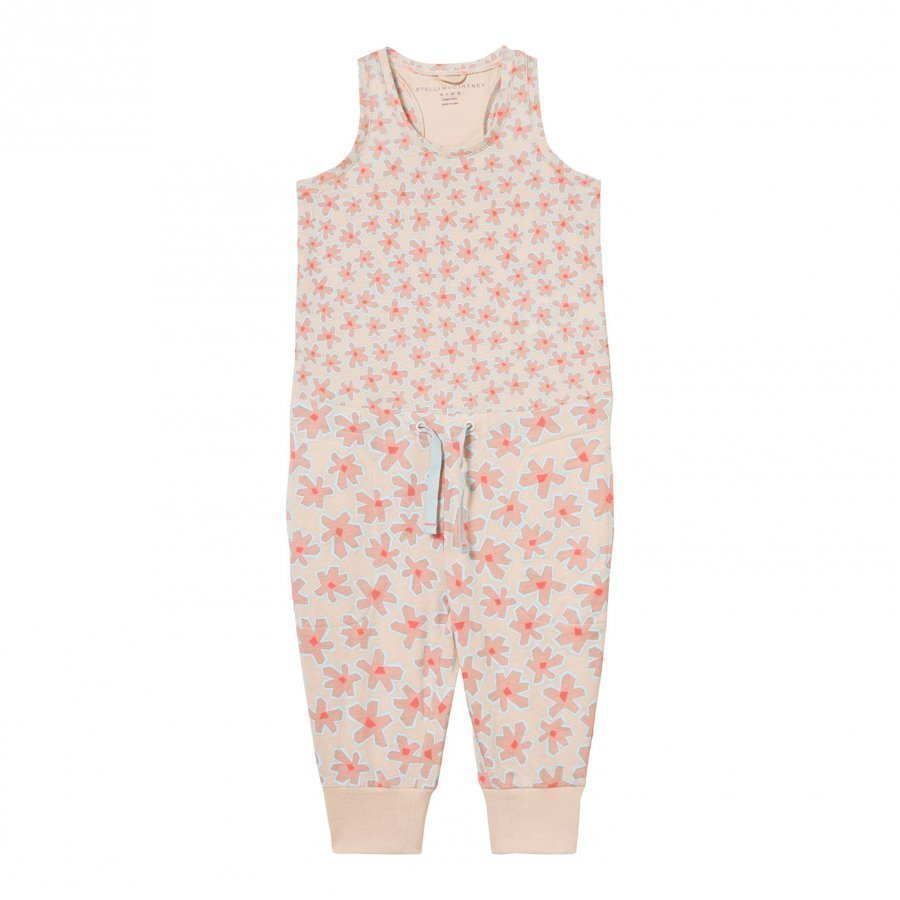 Stella Mccartney Kids Flo Jumpsuit With Daisy Print Romper Puku