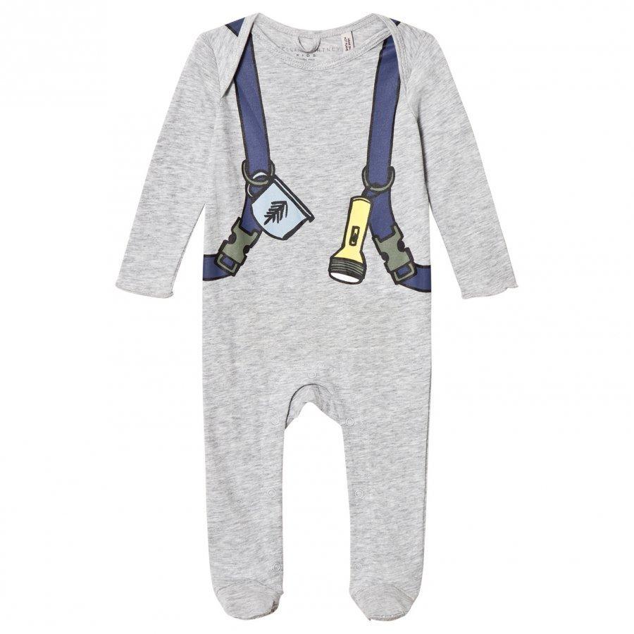 Stella Mccartney Kids Grey Backpack Rufus Baby Body
