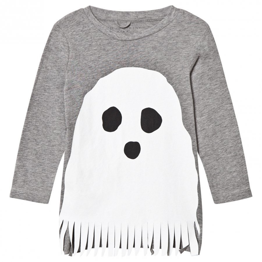 Stella Mccartney Kids Grey Ghost Knit Dress Mekko