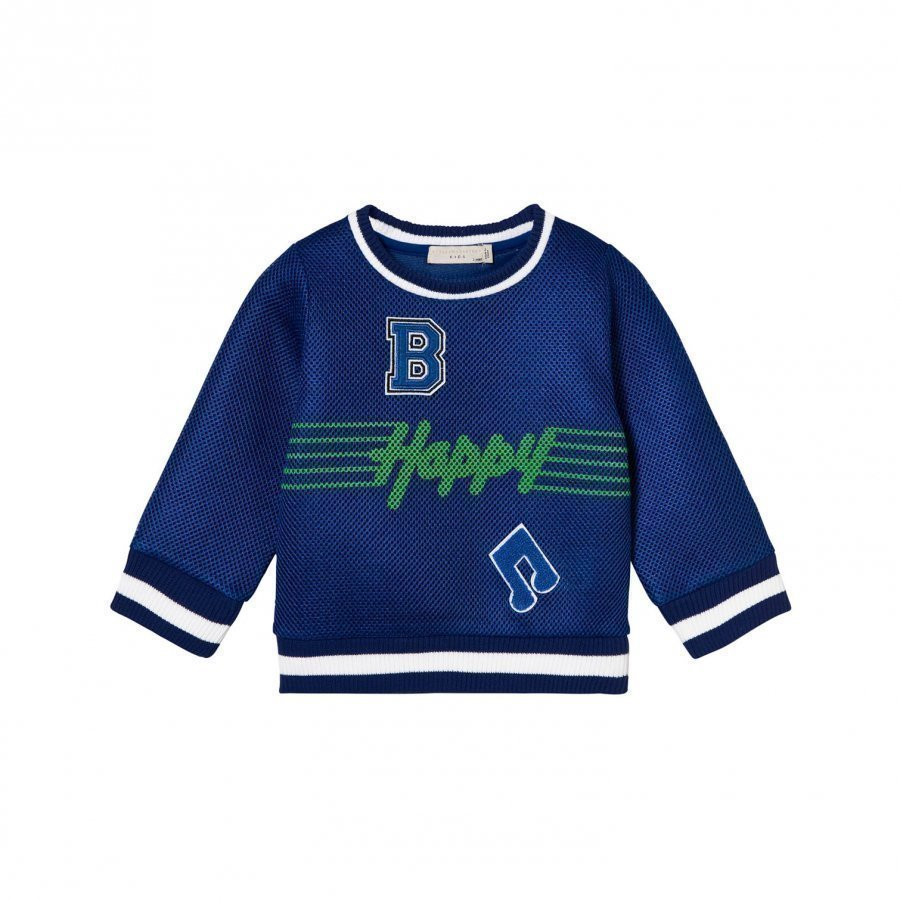 Stella Mccartney Kids Happy Musical Note Mesh Sweatshirt Oloasun Paita