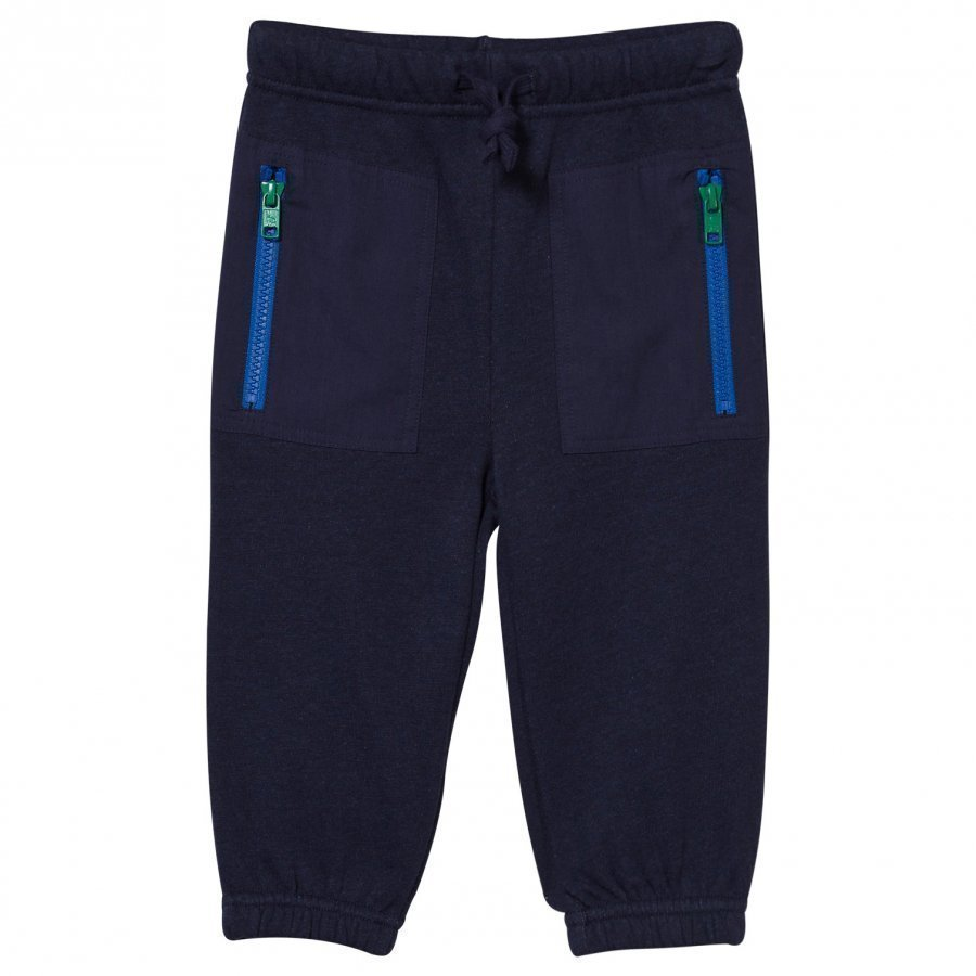 Stella Mccartney Kids Jack Fleece Trousers Midnight Melange Fleece Housut