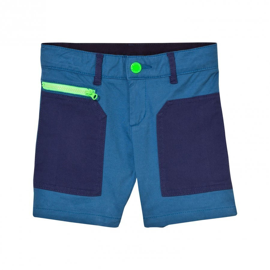 Stella Mccartney Kids Joe Shorts With Contrast Pockets Juhlashortsit