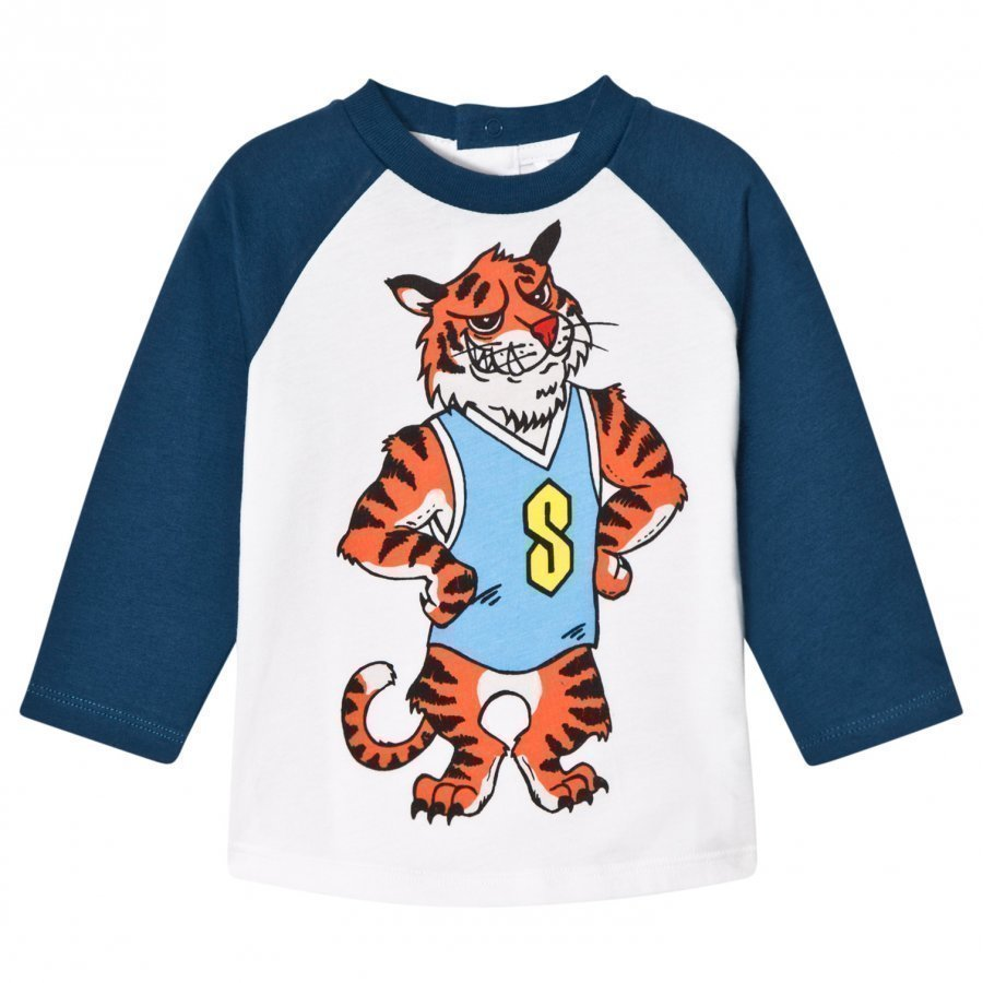 Stella Mccartney Kids Max Tiger Print T-Shirt T-Paita