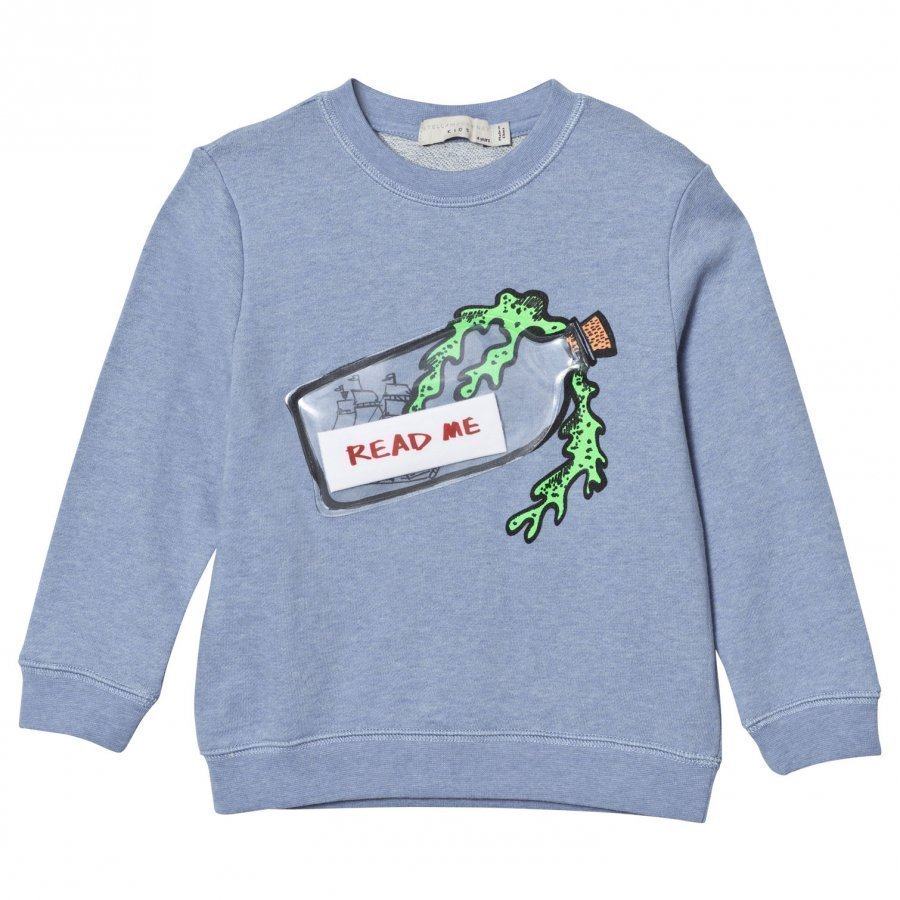 Stella Mccartney Kids Message In A Bottle Sweater Oloasun Paita