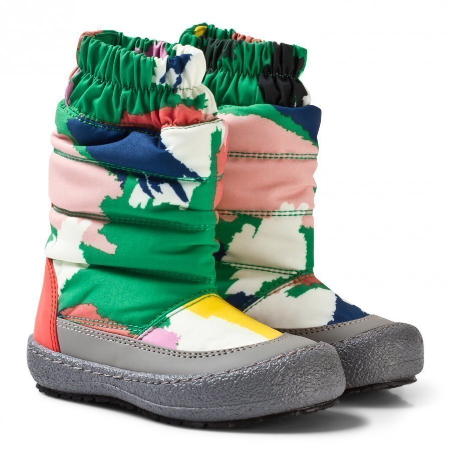 Stella Mccartney Kids Multi Camo Mai Ski Boots Talvisaappaat