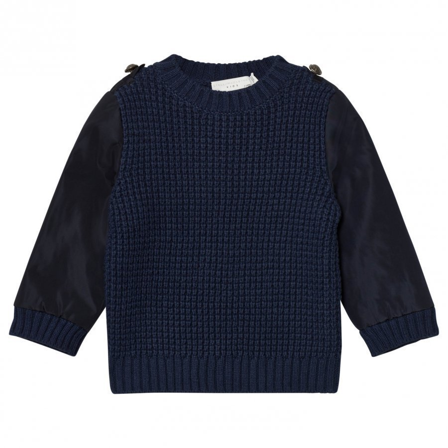 Stella Mccartney Kids Navy Apollo Knit Jumper Paita