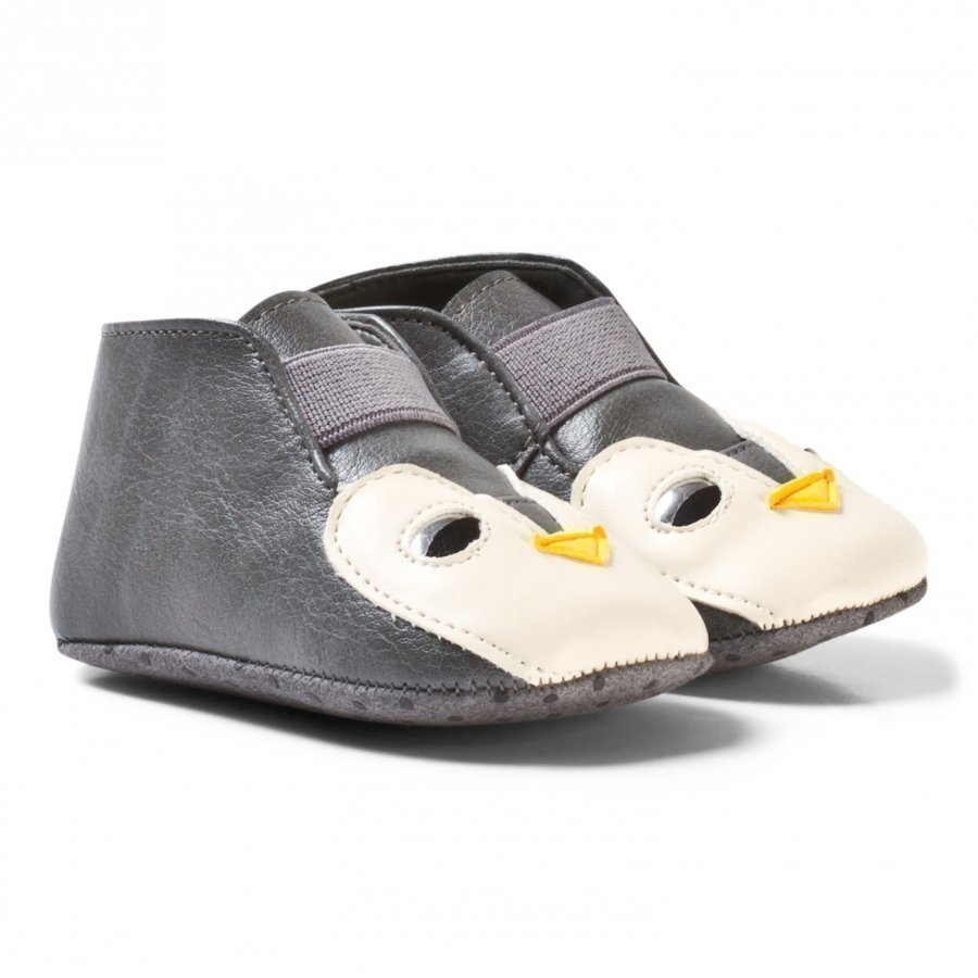 Stella Mccartney Kids Navy Holden Penguin Crib Shoes Vauvan Kengät