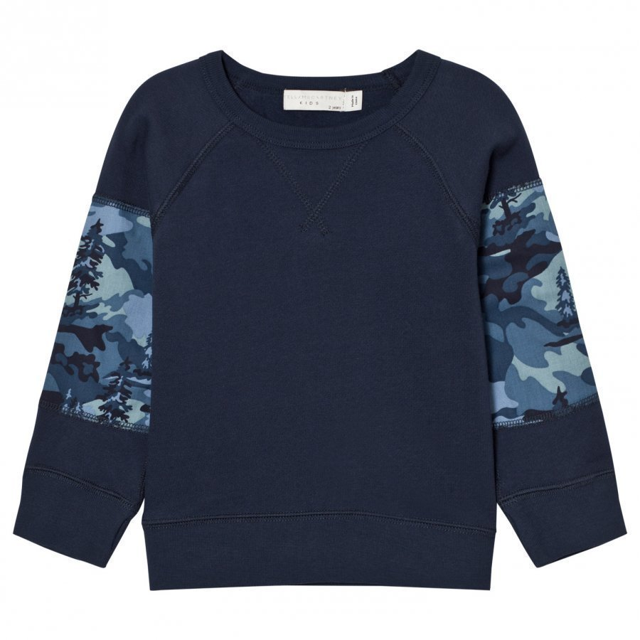 Stella Mccartney Kids Navy Kip Sweatshirt Oloasun Paita