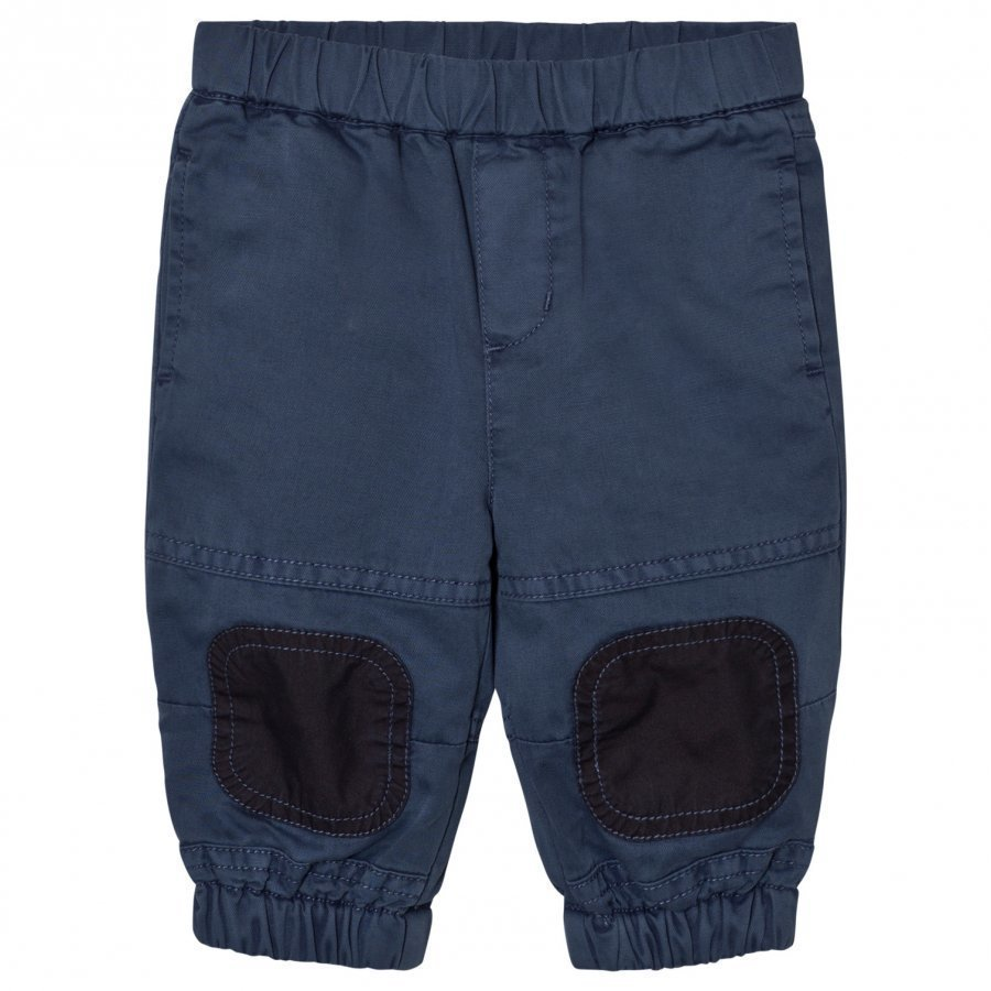 Stella Mccartney Kids Navy Pull Up Almond Track Pants Verryttelyhousut