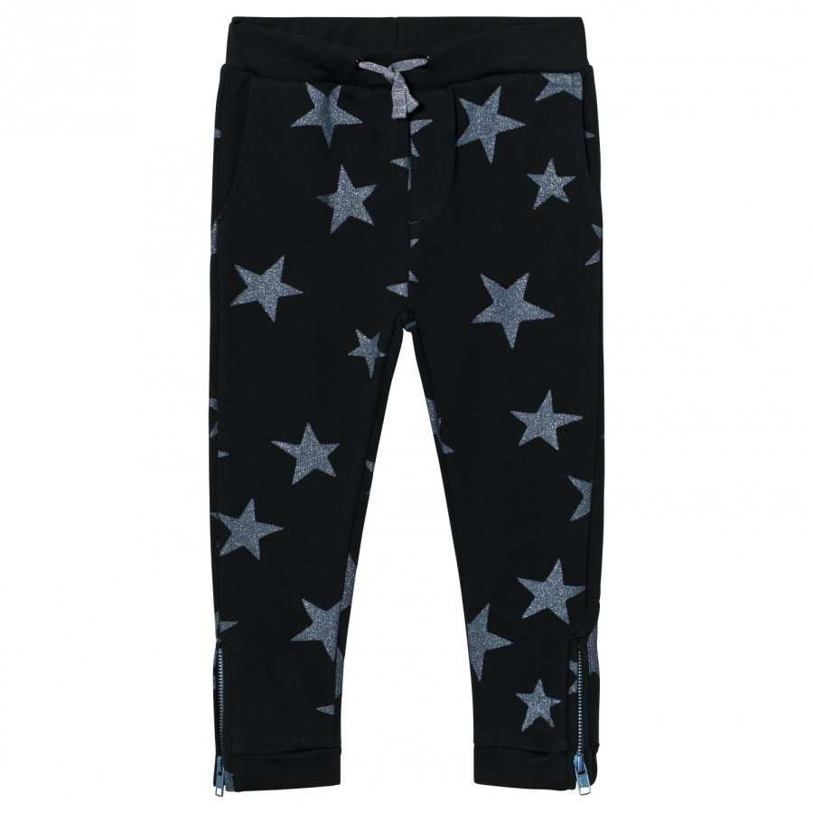 Stella Mccartney Kids Navy Star Print Track Pants Verryttelyhousut