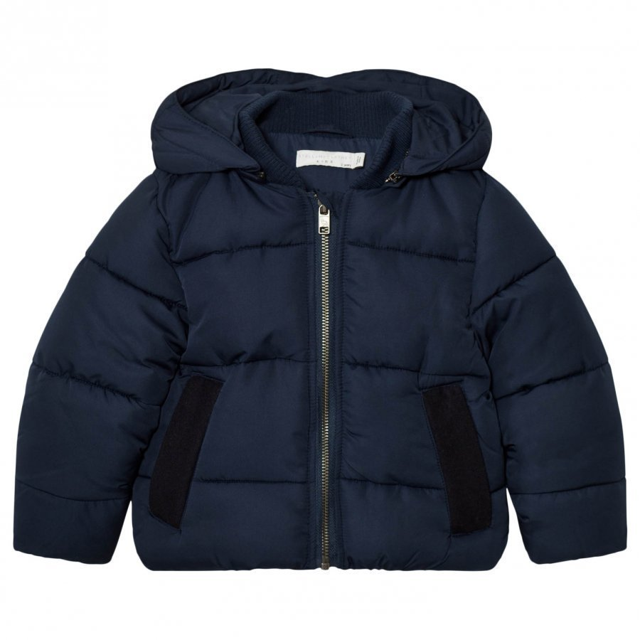 Stella Mccartney Kids Navy Tremblay Puffer Coat Toppatakki