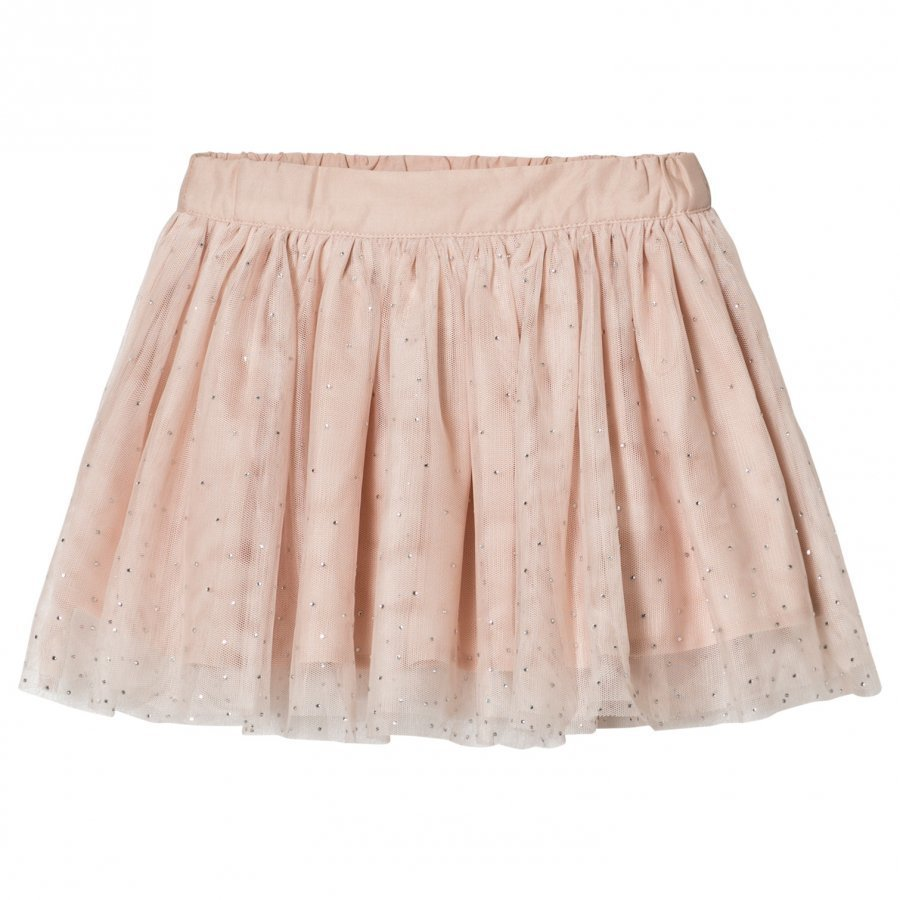 Stella Mccartney Kids Pale Pink Honey Hotfix Skirt Tyllihame