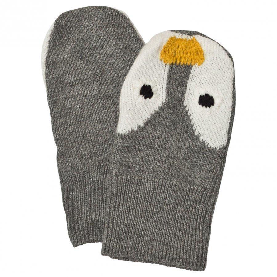 Stella Mccartney Kids Penguin Knit Mittens Villalapaset