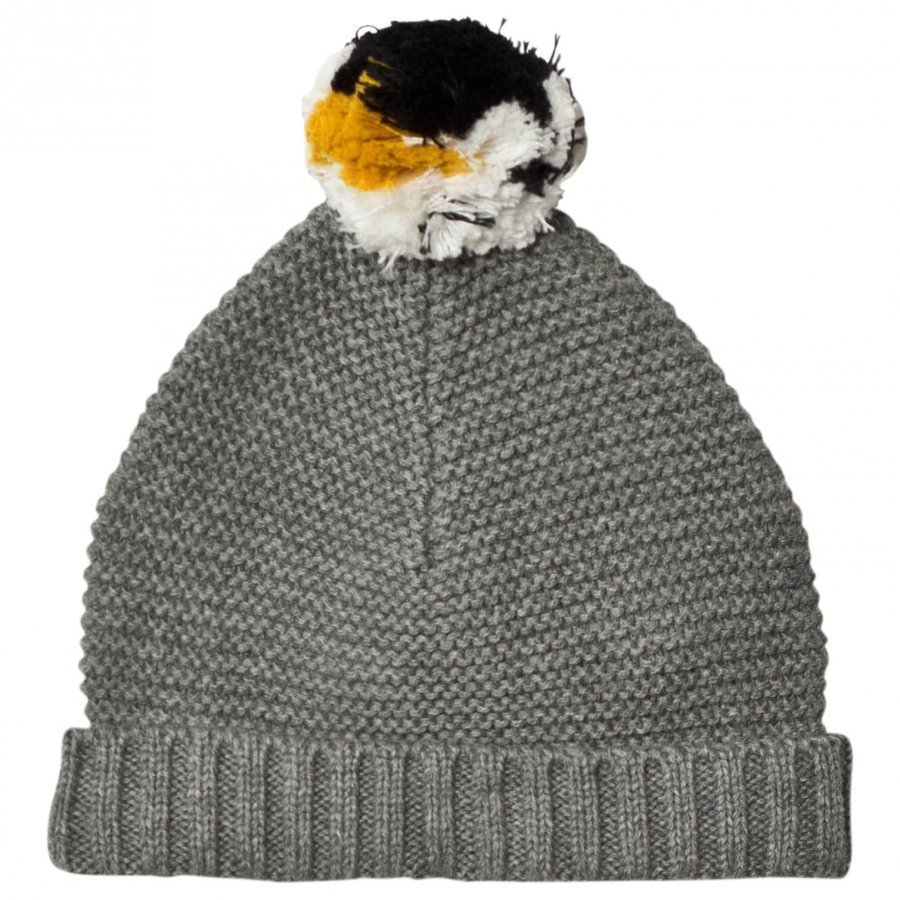 Stella Mccartney Kids Penguin Pom Pom Knit Hat Pipo