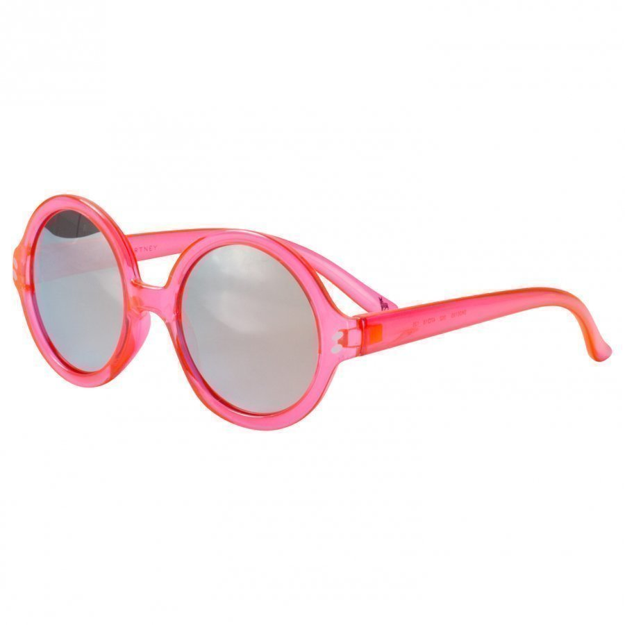 Stella Mccartney Kids Pink And Gold Round Sunglasses Aurinkolasit