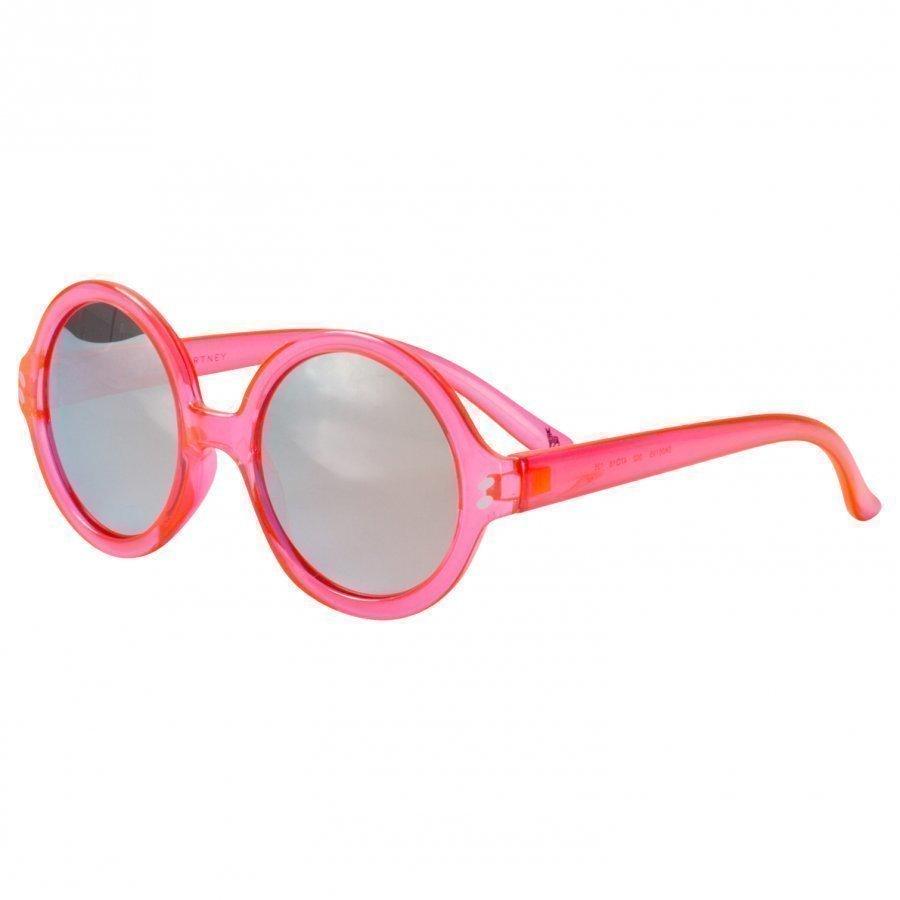 Stella Mccartney Kids Pink And Gold Round Sunglasses Aurinkolasit