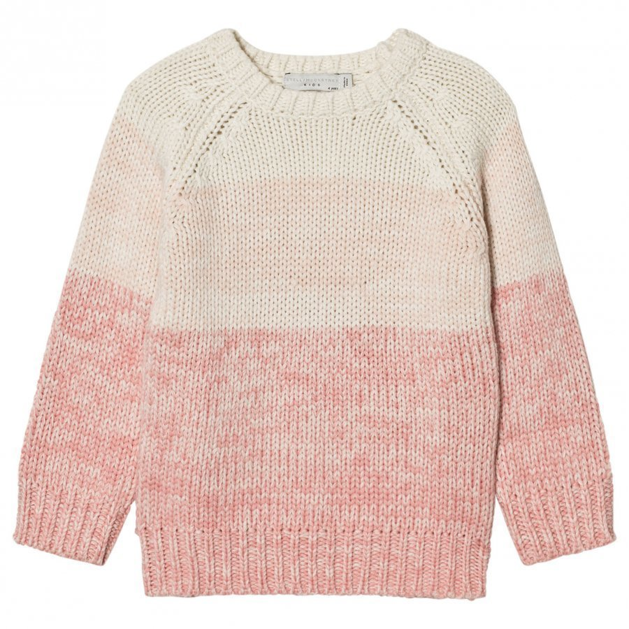 Stella Mccartney Kids Pink Freddie Degrade Jumper Paita