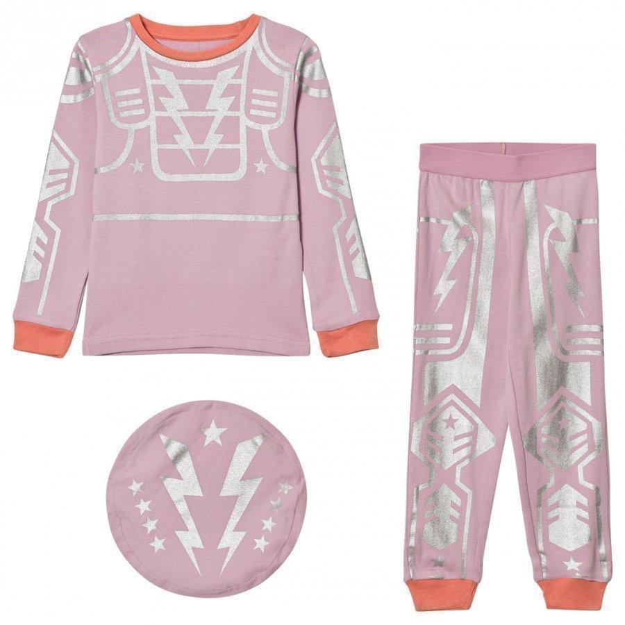 Stella Mccartney Kids Pink Robot Andrea Pyjamas Yöpuku