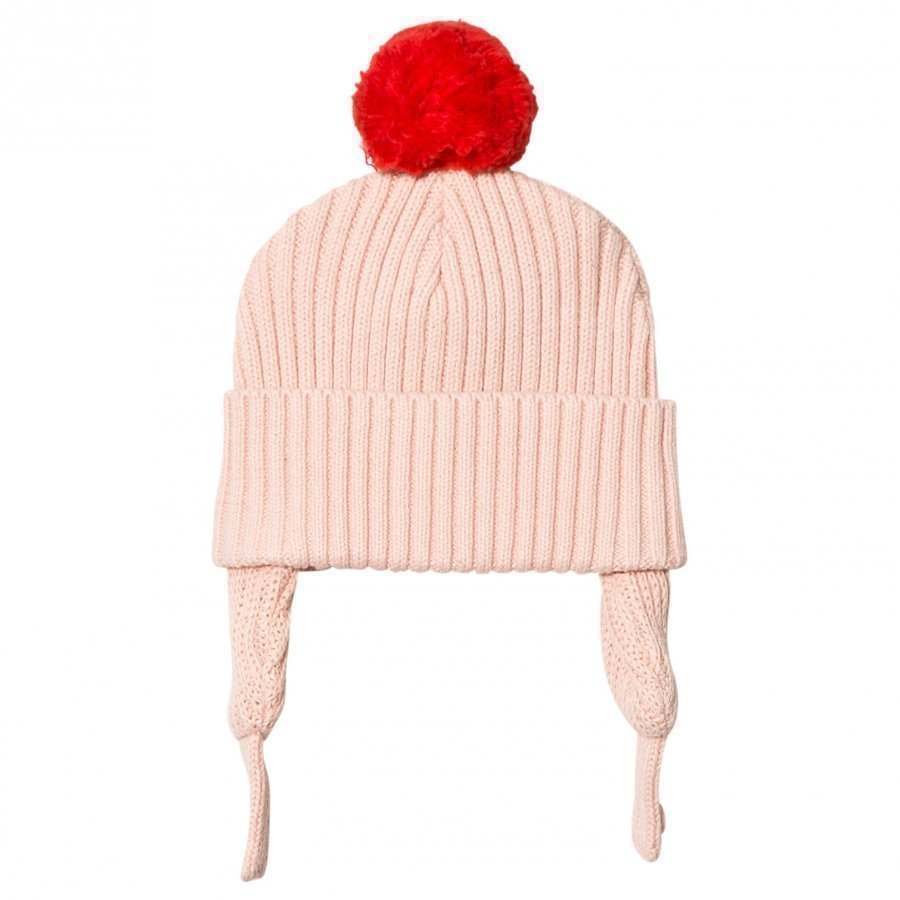 Stella Mccartney Kids Pink Sherry Pom Pom Baby Hat Pipo