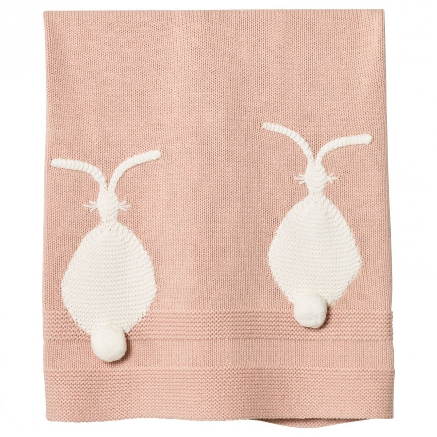 Stella Mccartney Kids Pink Snowball Knit Blanket Huopa