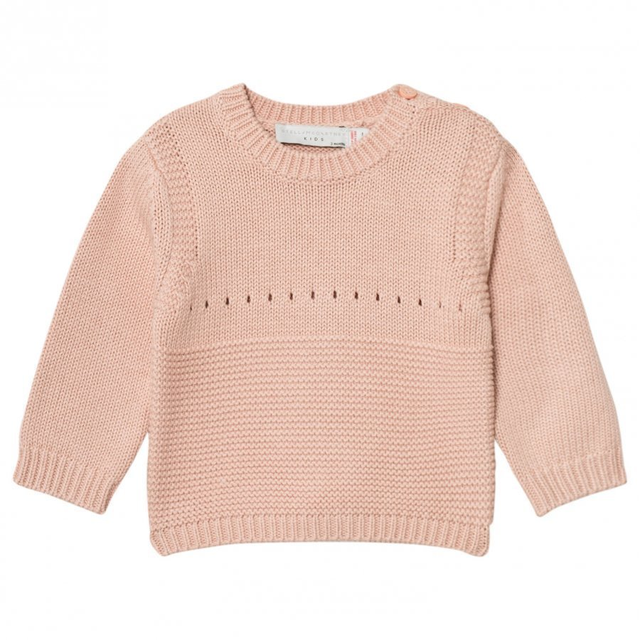Stella Mccartney Kids Pink Thumper Knit Bunny Jumper Paita