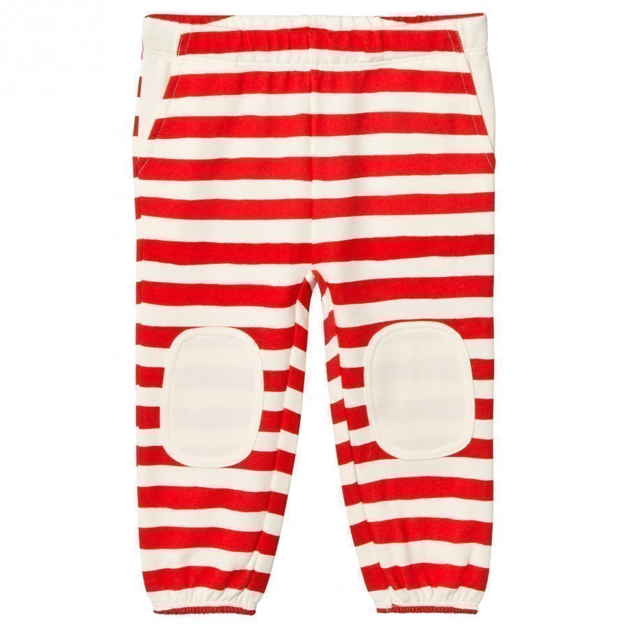 Stella Mccartney Kids Red Stripe Swenny Trousers Verryttelyhousut