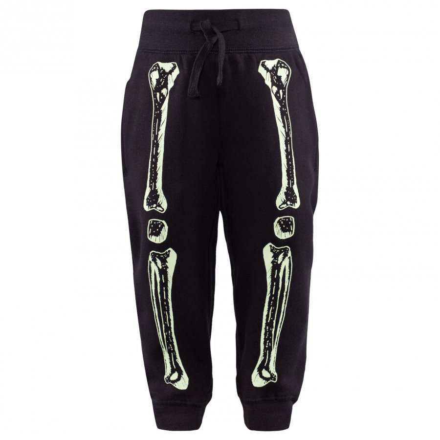 Stella Mccartney Kids Zachary Skeleton Sweat Pants Black Verryttelyhousut