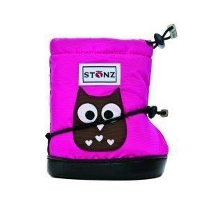 Stonz Booties Tossut Owl Fuksia