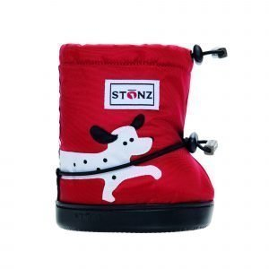 Stonz Booties Tossut Spot Dog Red