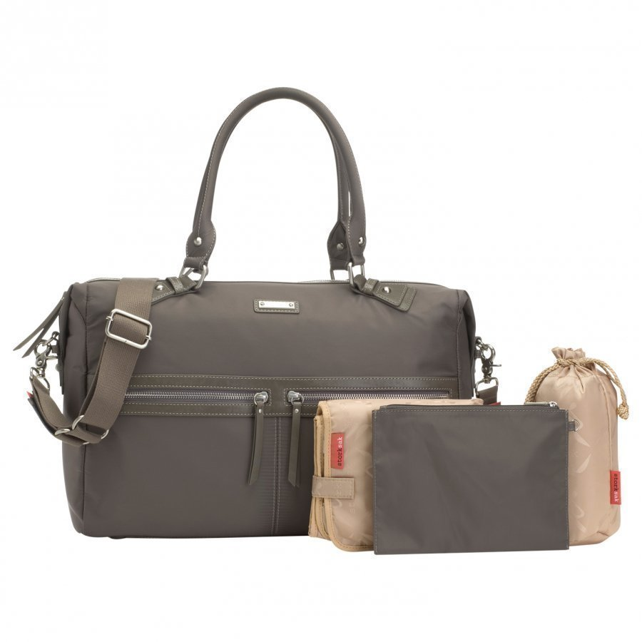 Storksak Caroline Changing Bag Grey Hoitolaukku