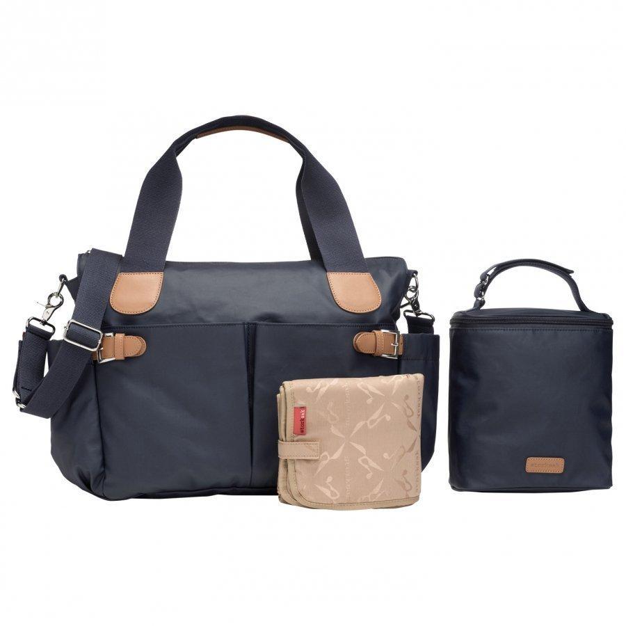Storksak Kay Changing Bag Navy Hoitolaukku