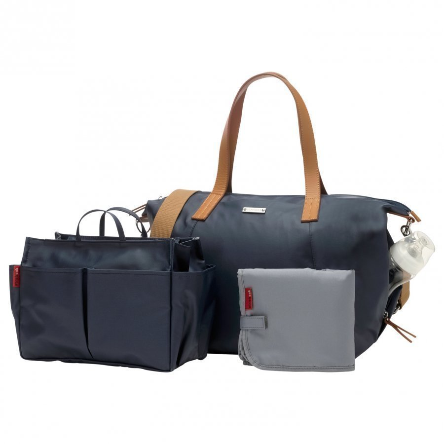 Storksak Noa Changing Bag Navy Hoitolaukku