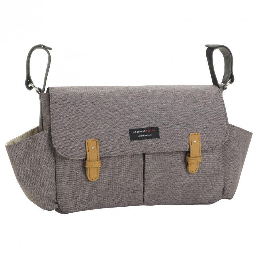 Storksak Travel Stroller Organizer Grey Hoitolaukku