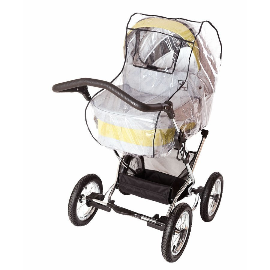 Sunnybaby Sadesuoja Comfort Plus Suojaikkunalla Lastenvaunuihin