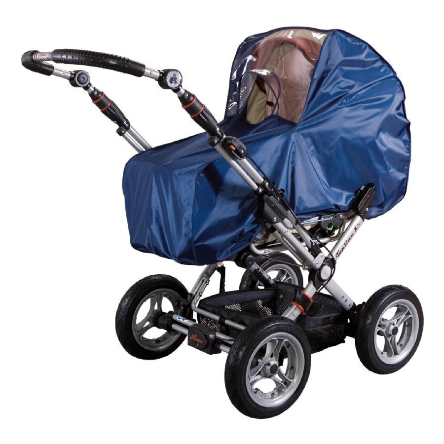 Sunnybaby Sadesuoja Lastenvaunuihin Sininen