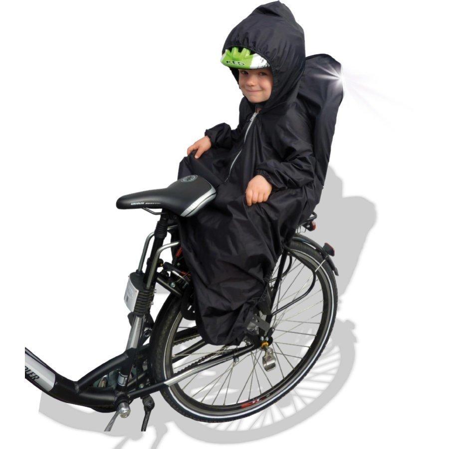 Sunnybaby Sadeviitta Polkupyöränistuimeen Musta