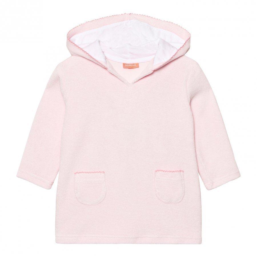 Sunuva Baby Pink Towelling Dress Kylpytakki