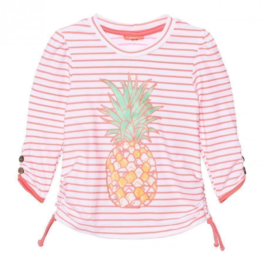 Sunuva Neon Pineapple Rash Vest Uv-Paita