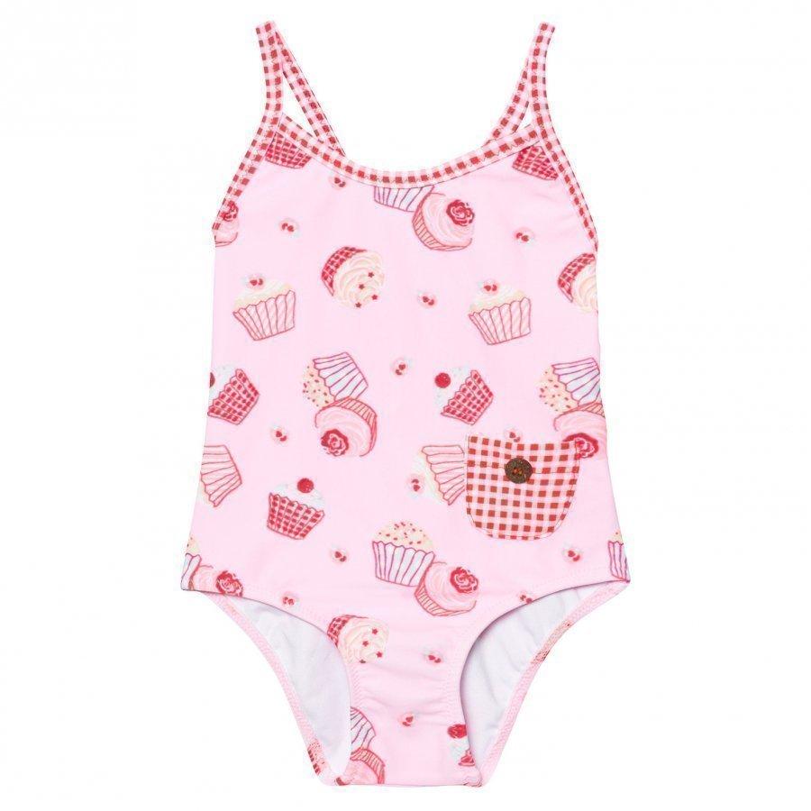 Sunuva Pink Mini Cupcake Swimsuit Uimapuku