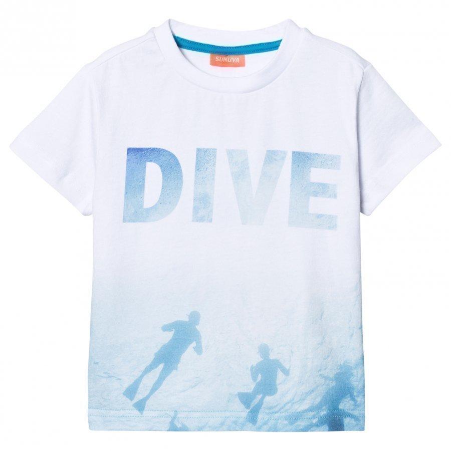 Sunuva White Photographic Diver Tee T-Paita