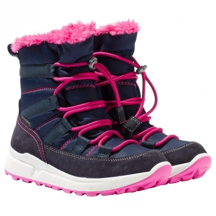 Superfit Merida Stiefel Boots Blue Talvisaappaat