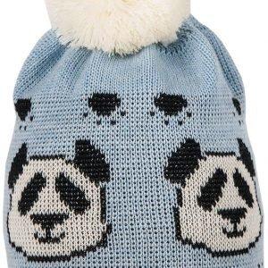 Superyellow Panda Jr Villapipo Vaaleansininen