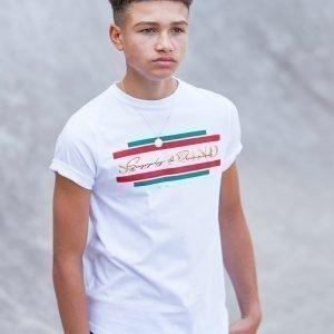 Supply & Demand Superstard T-Shirt Valkoinen