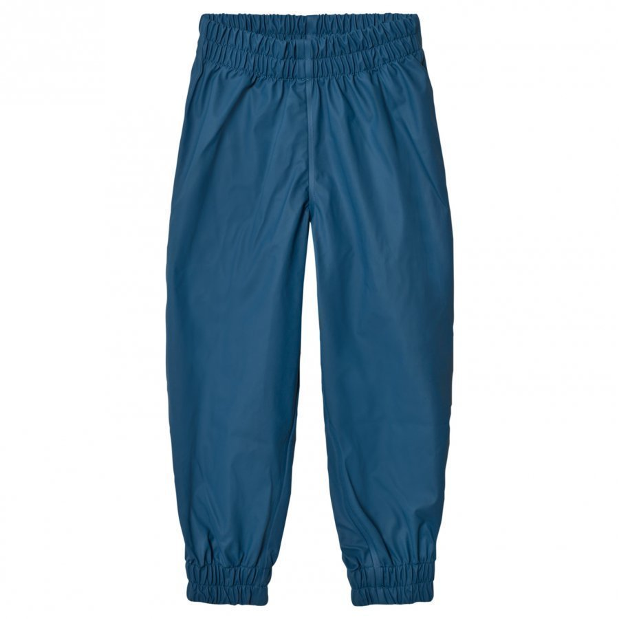 Sways Ocean Rain Pants Faded Blue Sadehousut