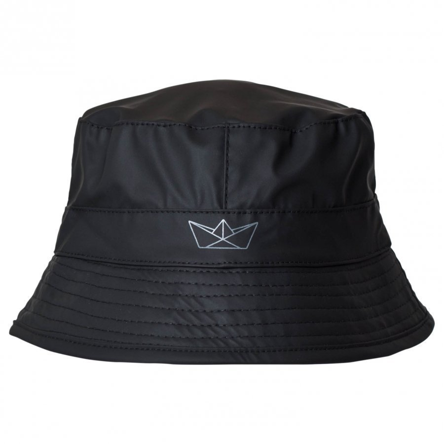 Sways Pelican Rain Hat Black Lippis