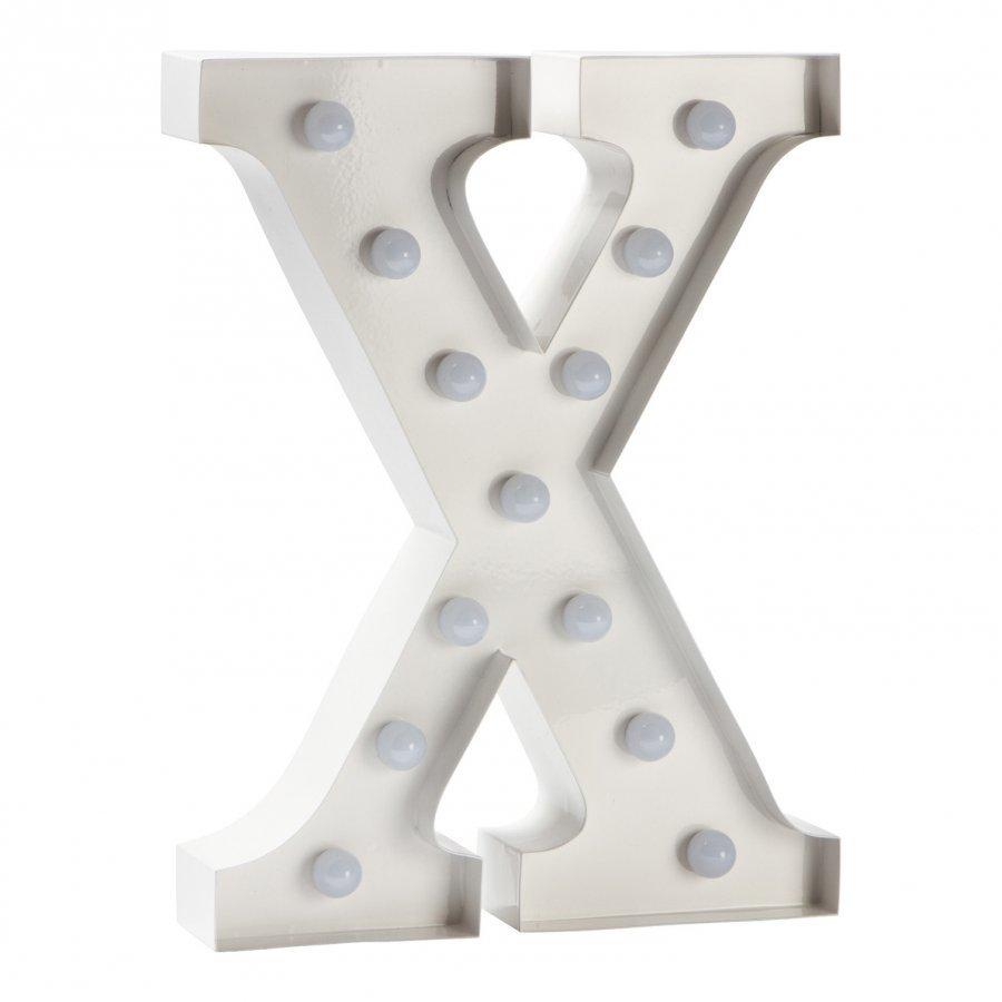 Sweetlights Letter X Mini Marquee Lights White Pöytävalaisin