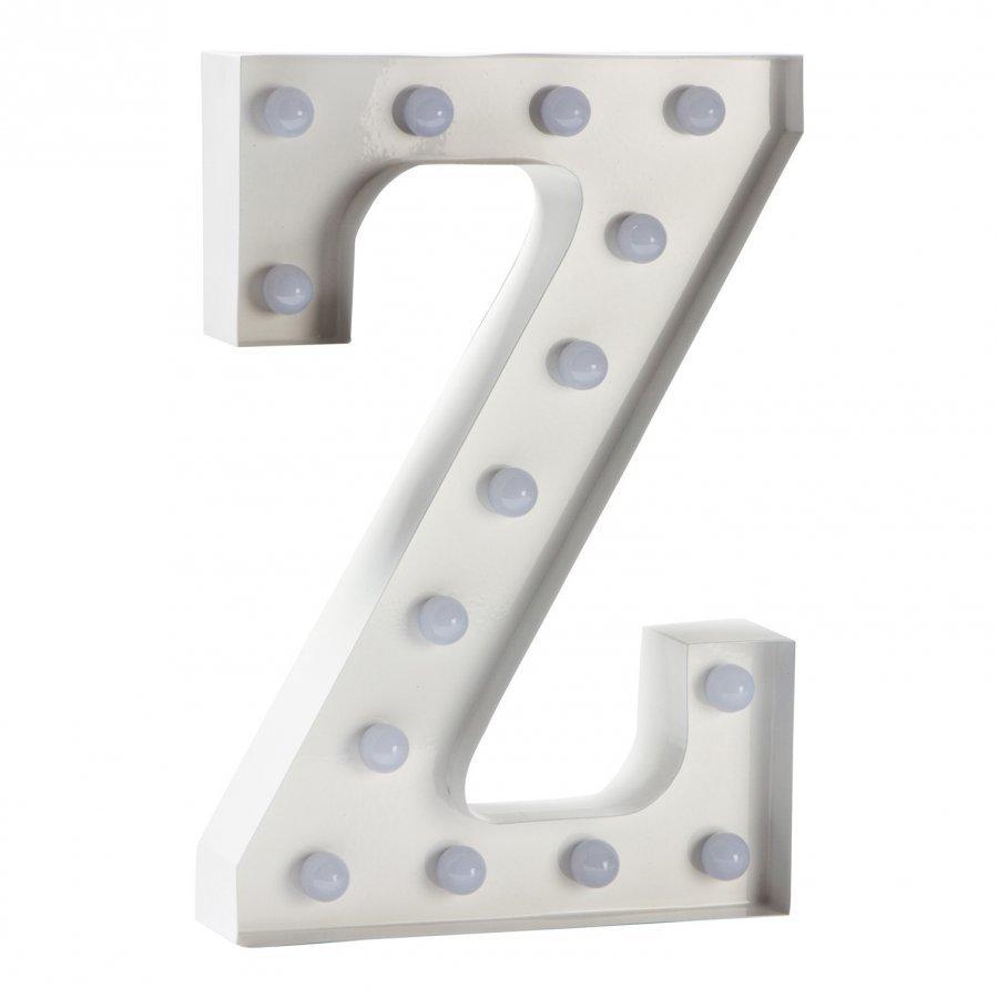 Sweetlights Letter Z Mini Marquee Lights White Pöytävalaisin